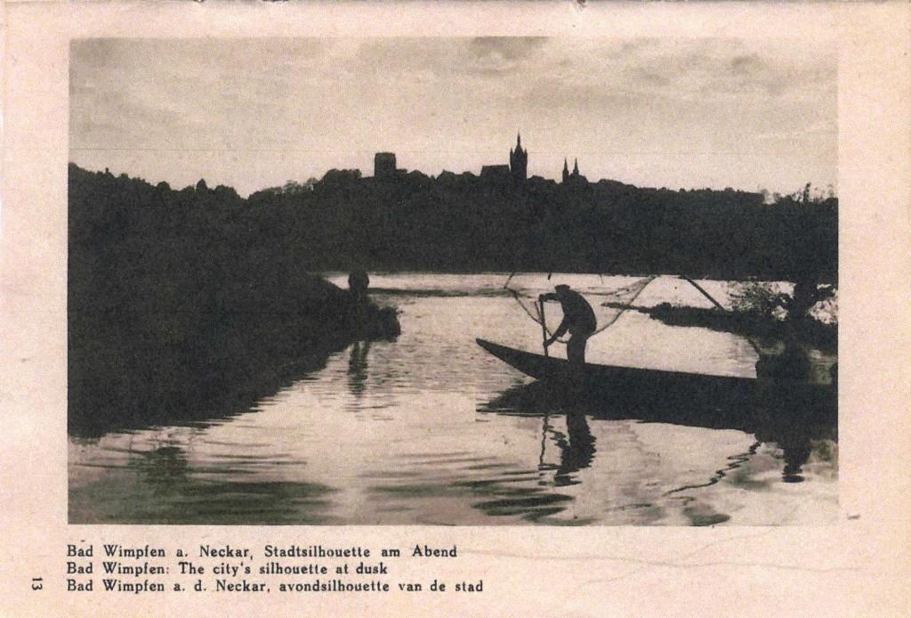 67 Stadtsilhouette Der Neckar IV